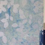 PV03046 Privacy Leaves Blue On Gossamer