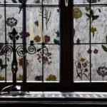 Frosted Random Flowers On Gossamer R087133