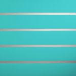 Aqua Horizontal Lines