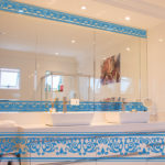 PV09081 Baroque Border Blue