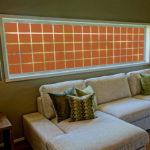 PV09093 Rectangles Burnt Orange