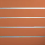 Burnt Orange Horizontal Lines