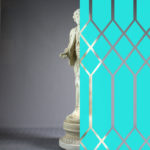 Diamonds Tudor Style Aqua