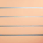 Peach Horizontal Lines