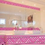 PV09082 Aztec Border 1 Pink