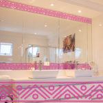 PV09083 Aztec Border 2 Pink