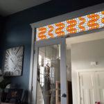 Orange Leaded Glass PV09030