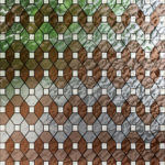 Brown Leaded Glass PV09031