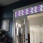 Purple Leaded Glass PV09026